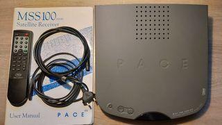 Receptor satélite analógico PACE MSS 100