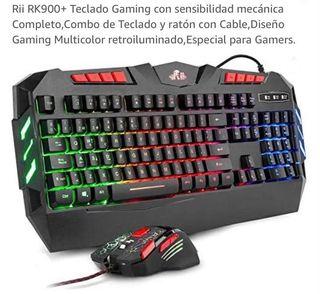 Teclado + Ratón Gaming