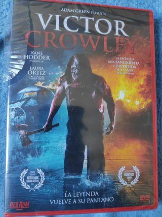 pelicula dvd Victor Crowley nuevo