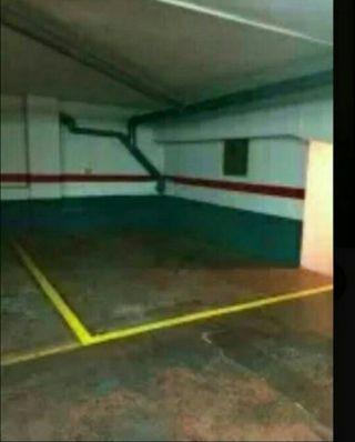 Plaza de garaje para moto