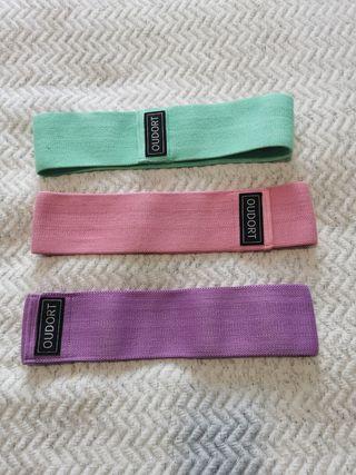 Bandas elásticas tela