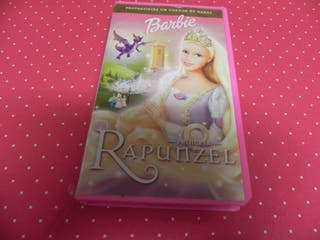 Pelicula BARBIE /PRINCESA RAPUNCEL-VHS