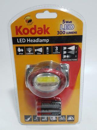 Lámpara linterna led de cabeza