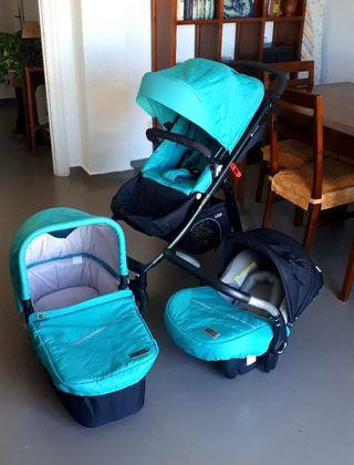 Carrito bebé Trio Casualplay Lopo