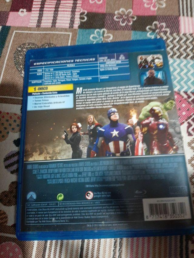 los vengadores de Marvel.
