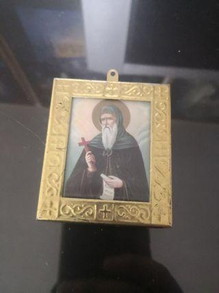 pequeño llavero o cuadro de sant antonio el grande