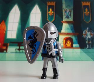 Playmobil Caballero del Dragón Azul