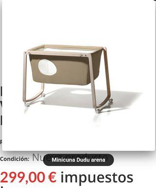 Ganga) Mini cuna dudu su precio en tienda es 299€