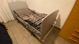 Se vende cama articulada con carro elevador