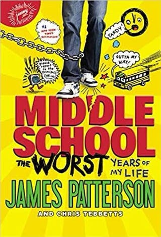 James Patterson Middle School Book