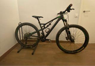 Bicicleta megamo doble suspensión trail