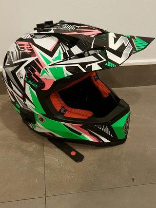 Casco moto niño ls2 fast talla s