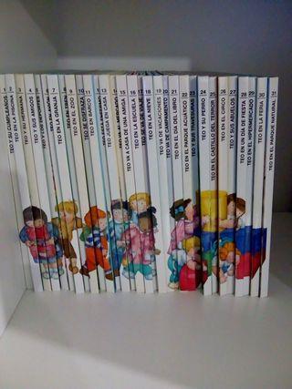Colección libros TEO