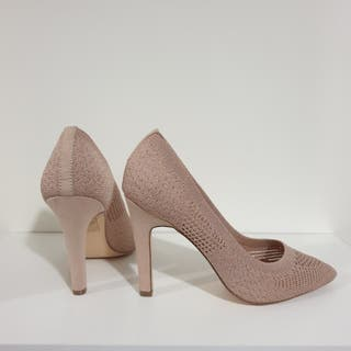 Zapatos tacón nude