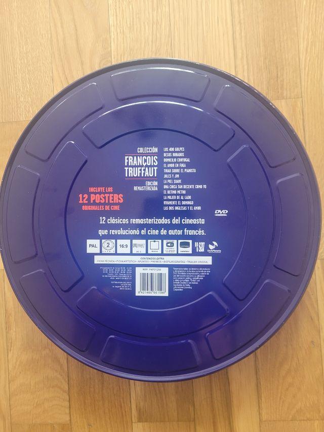 Pack truffaut dvd caja metálica. 12 películas