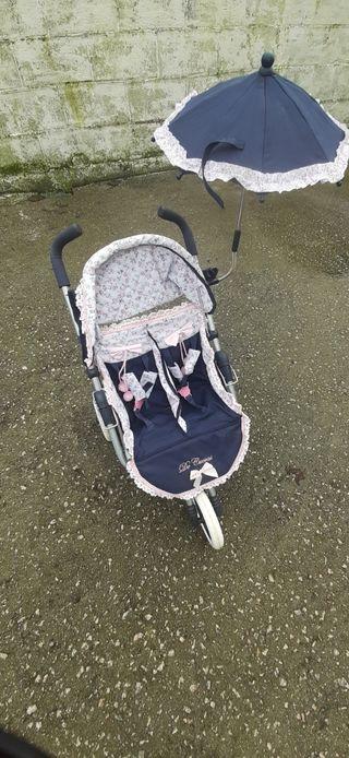carrito bebes gemelar