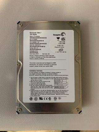 Disco duro torre 120 gb barracuda 7200.7 seagate