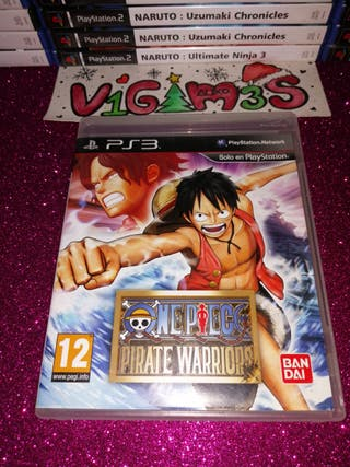 One Piece Pirate Warriors Ps3 PlayStation 3