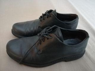 Zapatos hombre negros talla 49 Panama Jack