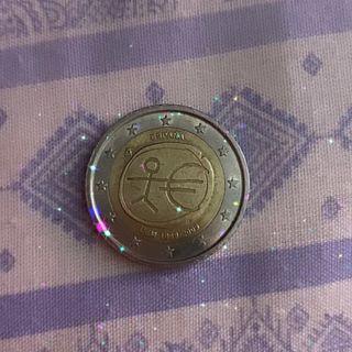 MONEDA DE 2€ 1999 / 2009 UEM