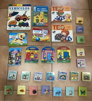 Pack lote 29 libros a partir de 2 años