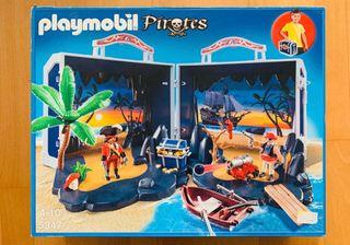 Playmobil cofre pirata.