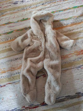 Buzo bebe osito caliente 6 a 9 meses