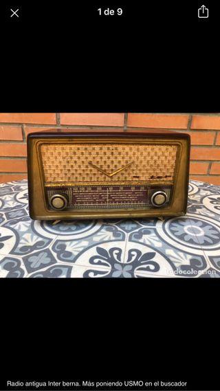 Radio antigua Inter berna no probada