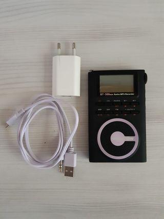 Radio Digital/MP3/Grabadora Brigmton BT-500
