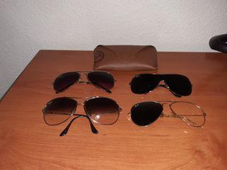 4 gafas de sol ray ban
