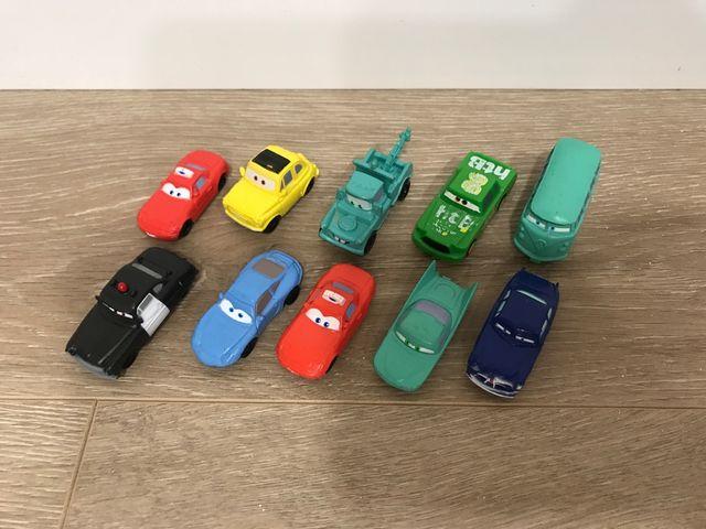10 figuras de la película Cars de Pixar
