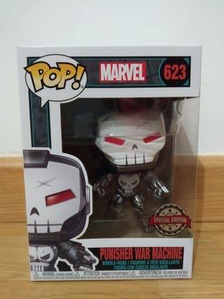 ! POP - MARVEL - PUNISHER WAR MACHINE (623)