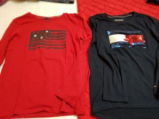 Lote 2 camisetas Tommy hilfiger