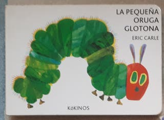 Libro infantil la pequeña oruga glotona
