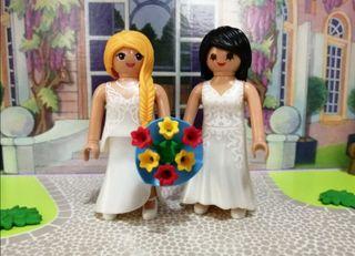 playmobil pareja de novias mod 6
