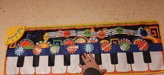 alfombra piano musical mat