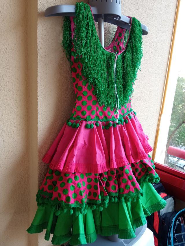 Vestido De Flamenca De Segunda Mano Por 30 En Málaga En Wallapop