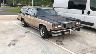 ford 1985 clásico americano familiar gasolina