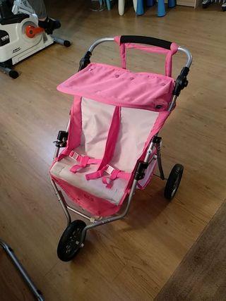 carrito gemelar marca juguetos