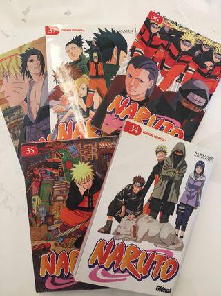 Libro Naruto 1,7 y 36