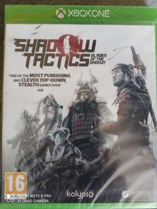 SHADOW TACTICS XBOX ONE PRECINTADO