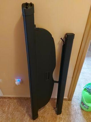 bandeja maletero enrollable+ rejilla separadora