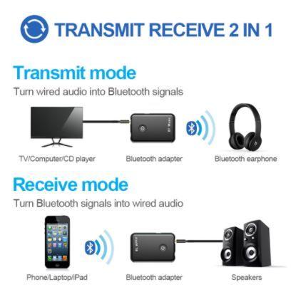 Receptor Bluetooth bt music