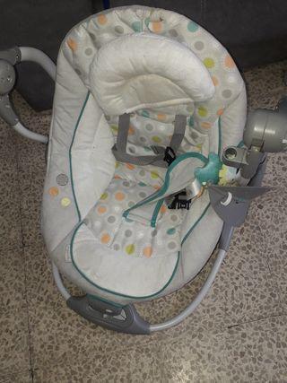 Hamaca eléctrica para bebé o mecedora