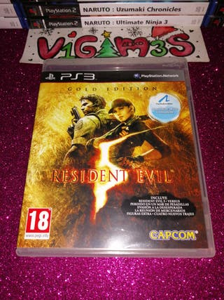 Resident Evil 5 Gold Edition ps3 PlayStation 3