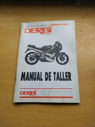 Derbi GPR 75 manual de taller