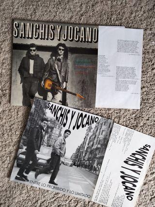 lote vinilos Sanchís y Jocano