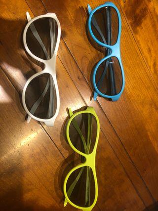 Gafas cinema 3D de LG