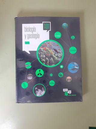 libro de biología y geologia. 1.º bachillerato