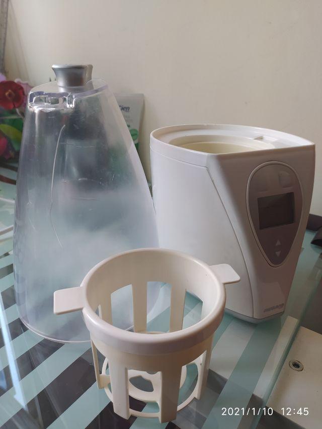 calienta biberones y esterilizador miniland baby